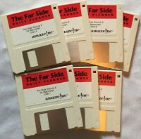 The Far Side Computer Daily Planner Macintosh 7 floppy disk SET 813-31078-1