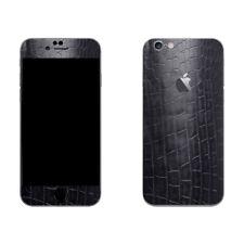 Schwarz Krokodil Schutzfolie Folie Skin für Handys Iphone, HTC, Galaxy, HUAWEI