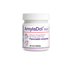 AmylaDol - Pancreatic / Digestive Enzymes for CATS & small sized DOGS 90 Tablets