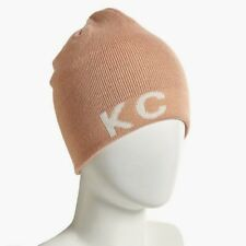 REACTION KENNETH COLE Beanie Hat KC Logo Blush Reversible New w Tags MSRP   38 3c153d89248e