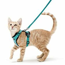 Rabbitgoo Cat Harness and Leash Set for Walking, Escape Proof with 59 Inches Lea