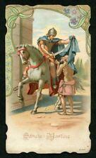 SAN MARTINO 01 SANTINO HOLY CARD IMMAGINETTA RELIGIOSA IMAGE PIEUSE RELIGIOUS