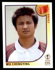 Panini World Cup Korea/Japan 2002 - Wu Chengying China No. 210