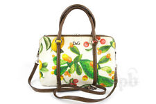 D&G Lily Twist Tri-Compartment Zipped Satchel Bag with Strap