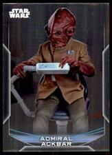 2020 Star Wars Chrome Perspectives Base #14-R Admiral Ackbar
