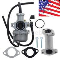 Carburetor & Intake Manifold set For Honda CRF70F 2004-2012 XR70R 1998-2003 Carb