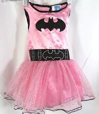 Rubies Toddler Girls sz 2T Pink Batgirl Costume Tulle Glitter Sleeveless