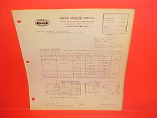 1940 CHEVROLET MASTER DELUXE UNITED MOTORS DELCO GM RADIO SERVICE MANUAL 985538