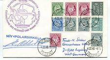 1980 Deutsche Antarktis Expedition MS Polarsirkel Polar Antarctic Cover SIGNED