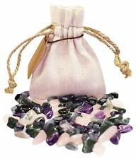 Addiction Recovery Power Pouch Healing Crystals Stone Tumbled Natural Gemstones