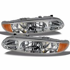 NEWMAR KOUNTRY STAR 2002 2003 2004 SET DRIVER HEADLIGHT HEAD LIGHT LAMP RV - SET
