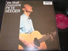 Pete Seeger We shall overcome/RDA reissue LP 1979 Amiga 845038