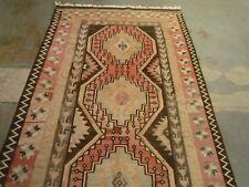 """Lovely Azerbaijan kilim oriental runner , carpet ( 10ft.11"""" x 4ft.6"""" )"""