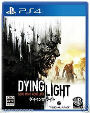 Used DYING LIGHT SONY PS4 PLAYSTATION JAPANESE IMPORT JAPANZON