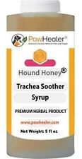 Hound Honey: Trachea Soother Syrup - 150 ml (5 fl oz) - Natural Herbal Remedy...