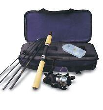 "Okuma Voyager Spinning Rod & Reel Combo Fishing Travel Kit, 6'0"" Medium Light Ml"