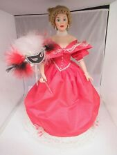 Vintage Danbury Mint Caroline Belle Of The Masquerade Ball Doll, 664-E