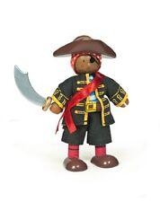 Le Toy Van - Budkins BK994 - Biegepuppe Pirat Raphael mit Schwert