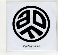 (GM659) Asian Dub Foundation, Zig Zag Nation - DJ CD