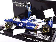 Minichamps Williams Renault FW18 Ganador GP Alemán 28th de Julio de 1996 Damon Hill