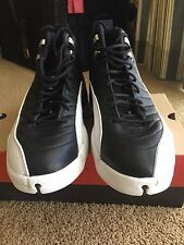 1997 Nike Air Jordan XII Black Varsity Red White Playoff 136001-061 Sz 12 OG