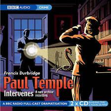 PAUL TEMPLE INTERVENES - Francis Durbridge (CD-Audio, 2005, Free Postage)