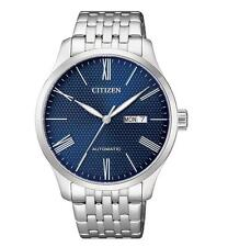 Citizen Analog Casual Watch Mechanical Silver Mens Nh8350-59l