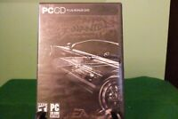 Need For Speed Most Wanted Black Edition for PC - No Manual - Discs are NM