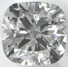 1.25 carat Cushion cut Diamond loose GIA cert. D color VVS clarity no fl. Ideal