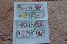 Briefmarken - Block aus Guinea Ecuatorial - Pflanzen