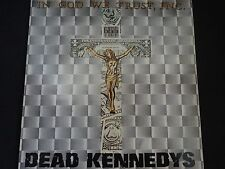 "Dead Kennedys ""In God We Trust, Inc."" Original LP. 1st (U.K) pressing. RARE !"