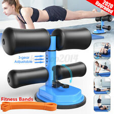 Sit Up Bar Floor Assistant Exercise Stand Padded Ankle Support Sit-up Trainer