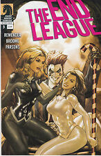 THE END LEAGUE 3...VF/VF+...2008...Rick Remender,Mat Broome...HTF Bargain!