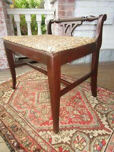 Vanity/Dressing Table Bench Mahogany 1940's  VGC