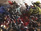 "Avengers Age of Ultron Huge 76.7"" x 59"" High Quality Canvas Art Print"