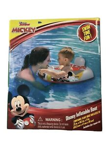 NIB Disney Junior Mickey Mouse Inflatable Boat Floater