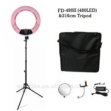 18'' 96W FD-480II Bicolor LED Ring Light w/ LCD Screen For Camera/Cellphone/iPad
