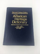 The Second College Edition. The American Heritage Dictionary G15-1