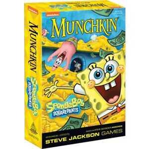 Munchkin SpongeBob Squarepants Card Game