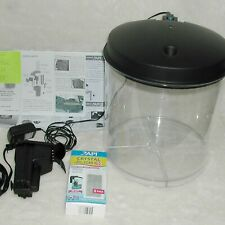 2 Gallon 360 Plastic Fish Tank Small Desktop Aquarium Kit Model AP360-2FFP