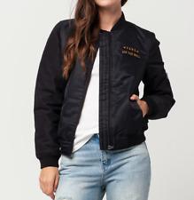 VANS Boom II Womens Bomber Jacket, Black, M