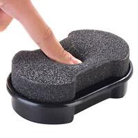 Quick Shine Shoes Shine Sponge Brush Polish Dust Cleaner Cleaning Tool 2016