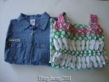 GAP DVF Diane von Furstenberg Chambray Shirt & Green Maxi Dress Size XXL 14 - 16