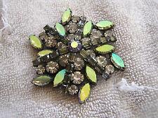 Vintage Kramer Rhinestone Pin Beautiful