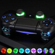 10 Colour LED Mod Kit PS4 Slim Pro Controller Thumbstick Button Bumper D-Pad DIY