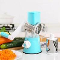 3 in 1 Spiral Manuelle Gemüseschneider Kitchen Reibe Heiß N2G6 L0U3