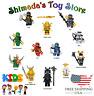 BRAND NEW LEGO NINJAGO MOVIE & EPISODES MINIFIGURES | GOLD DRAGON LLOYD & WU SET