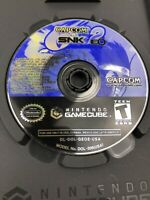 Capcom vs. SNK 2: EO (Nintendo GameCube, 2002) Disc Only Tested Working