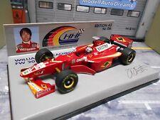 F1 williams renault MECACHROME 1998 fw20 #2 Frentzen Veltins MINICHAMPS 1:43