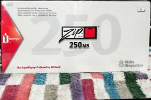 Zip 250 PC RW Formatted Media - 8 Pack - New in Unopened Box